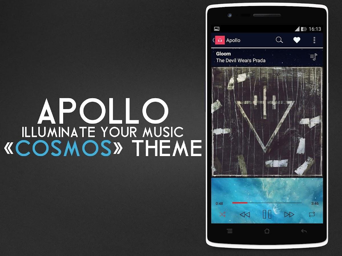 Themes in google play - Apollo Cosmos Theme Screenshot