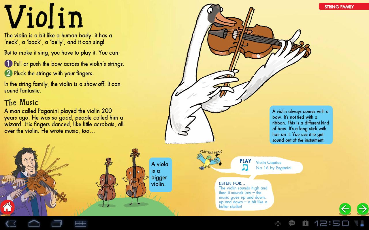 My First ClassicalMusic:tablet- screenshot