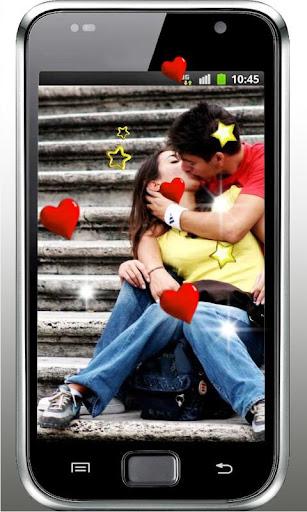 Romantic Kisses Live Wallpaper