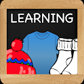 Learning Clothing for Kids icon