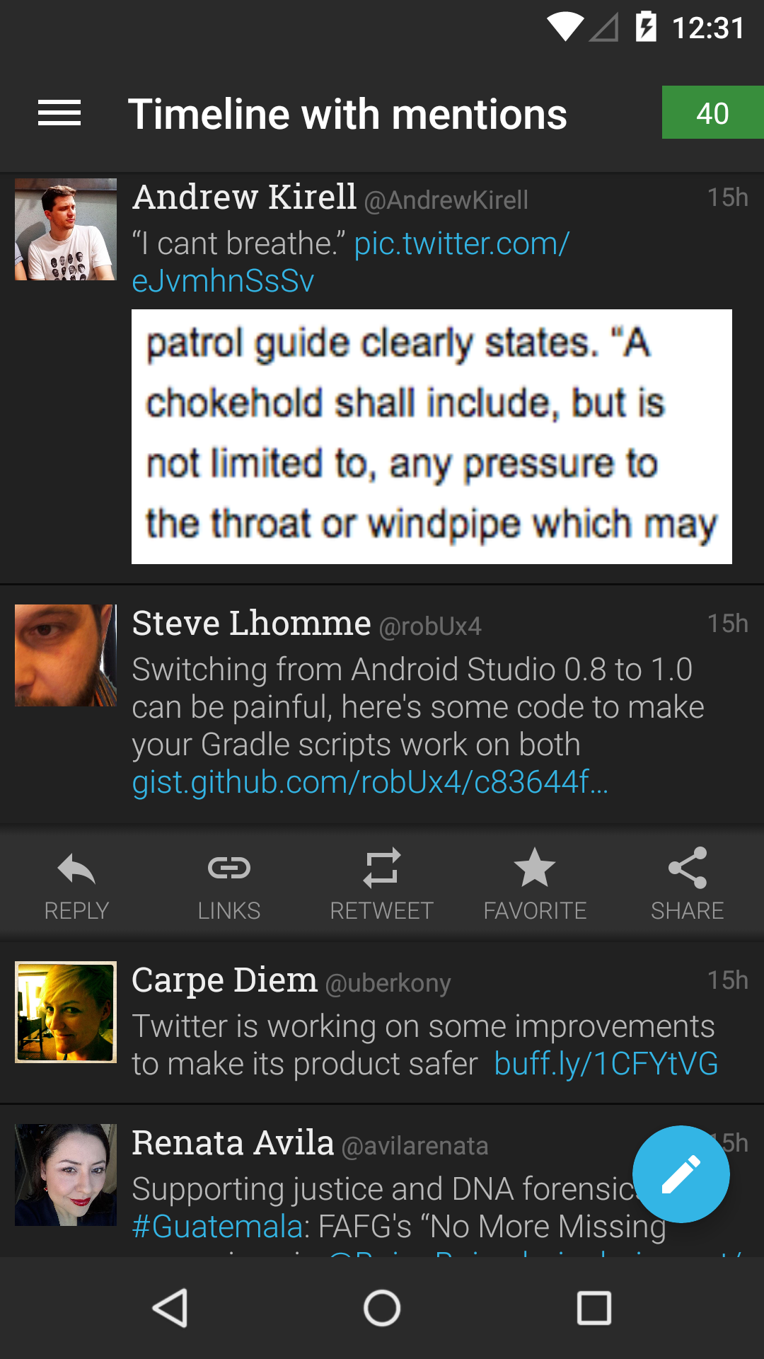 Plume for Twitter screenshot #4