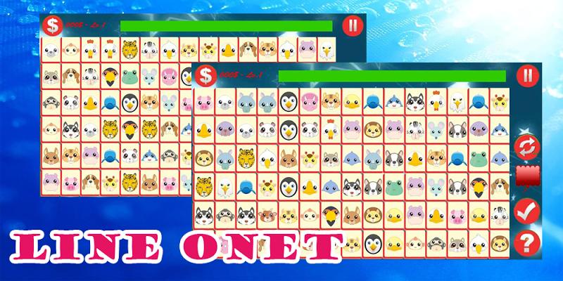 Animal Onet Pikachu-2016 - screenshot