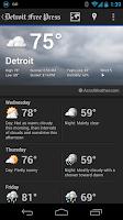 Screenshot of Detroit Free Press
