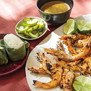 Thai Grilled Shrimp with Black Pepper Sauce