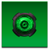 ADW Theme DigitalSoul Green