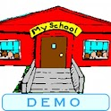 Learn ABC at My School (Demo) logo