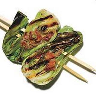 Prosciutto-Studded Baby Bok Choy.
