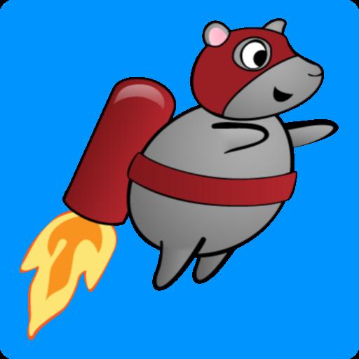 噴氣背包傑米火箭鼠標 休閒 LOGO-玩APPs