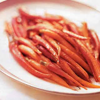 Sweet-and-Sour Baby Carrots.