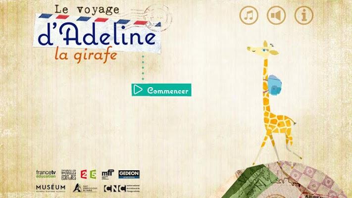 Le voyage d'Adeline la girafe - screenshot