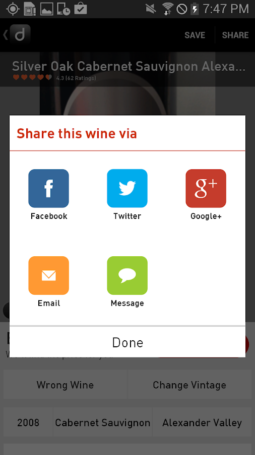 Drync - Buy Wine You Love - screenshot