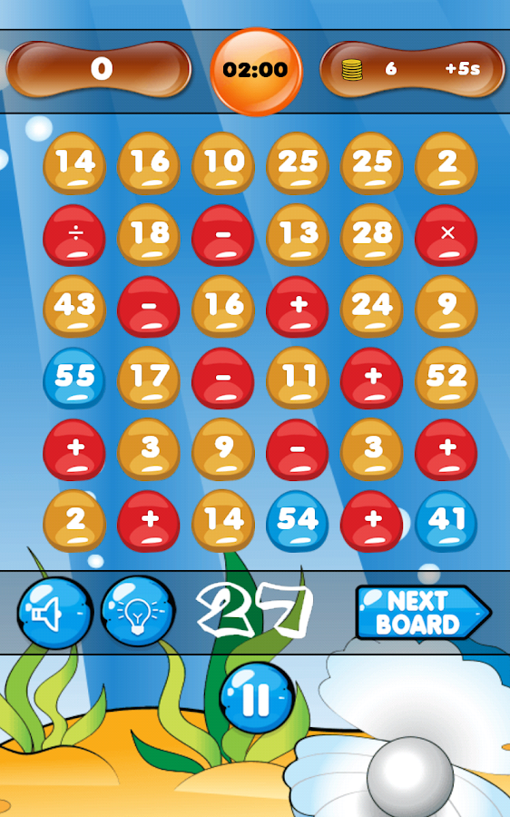 Math Bingo - The Brain Teaser - screenshot