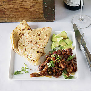 Pork Carnitas with Garlic and Orange.