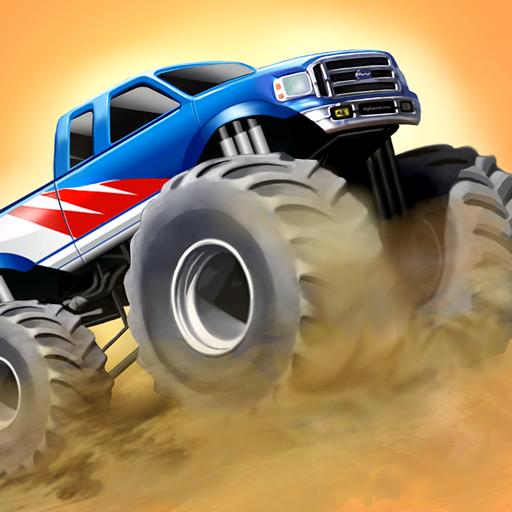 特技大腳車 賽車遊戲 App LOGO-硬是要APP