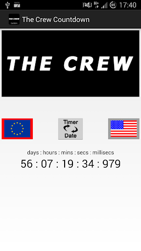 The Crew Countdown Widget