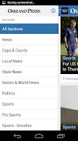 Screenshot of The Oakland Press