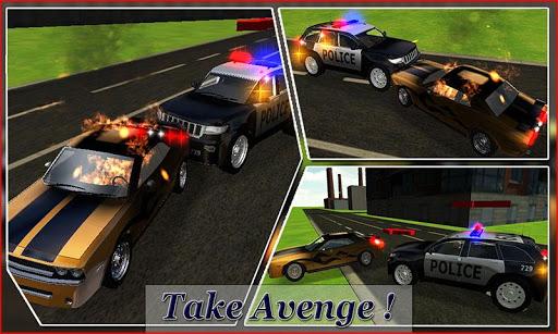 警车司机3D模拟器