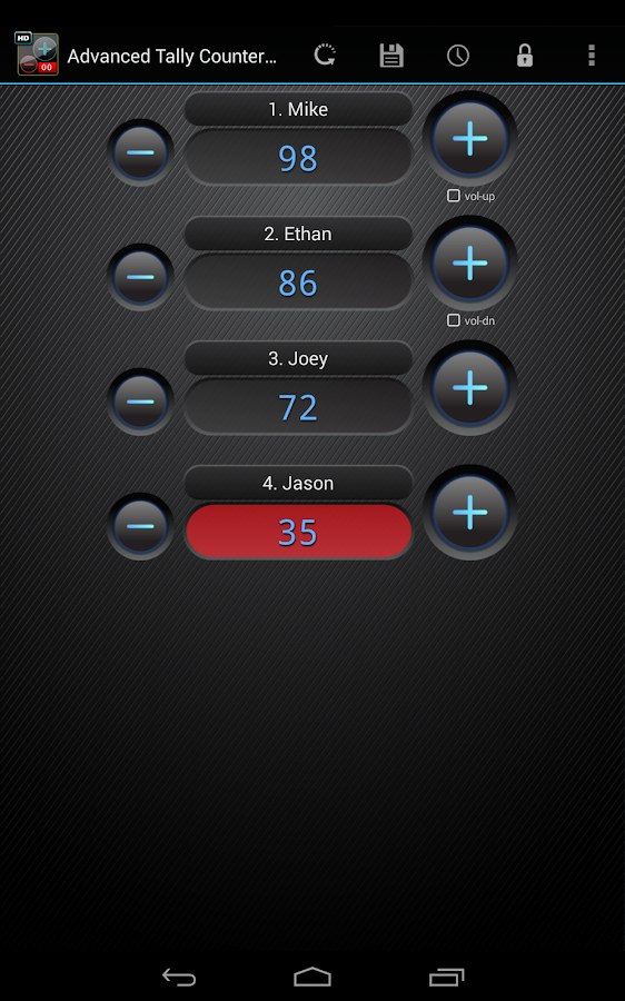Advanced Tally Counter Pro - screenshot