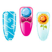 100 Nail Art Stickers