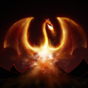 Fire Dragon 3D Live Wallpaper icon