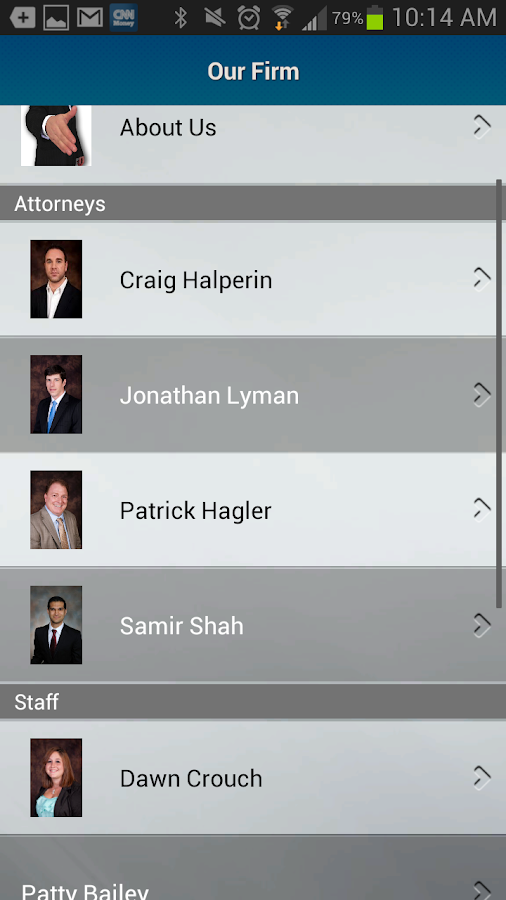 Halperin Lyman, LLC - screenshot
