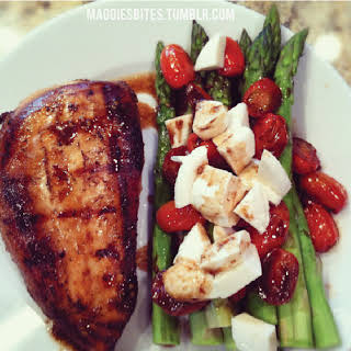 Balsamic Chicken & Asparagus.