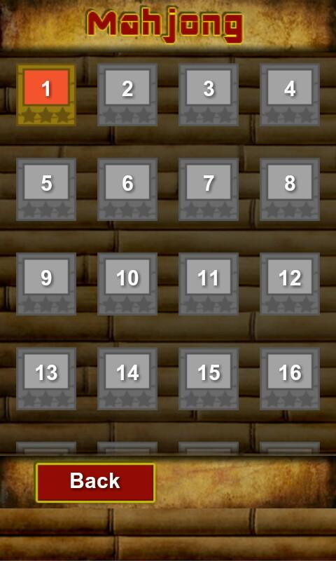 MahJong - screenshot