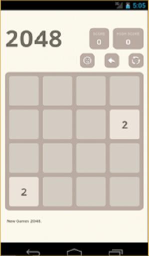 Game 2048 Puzzle