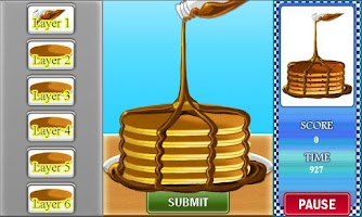 Screenshot of Cindy's Pancake Craze
