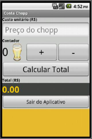 Conta Chopp - screenshot