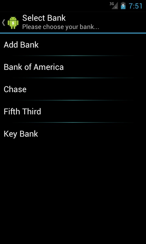 Bank Buddy- screenshot