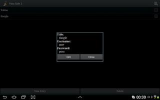 Screenshot of Pass Safe 2