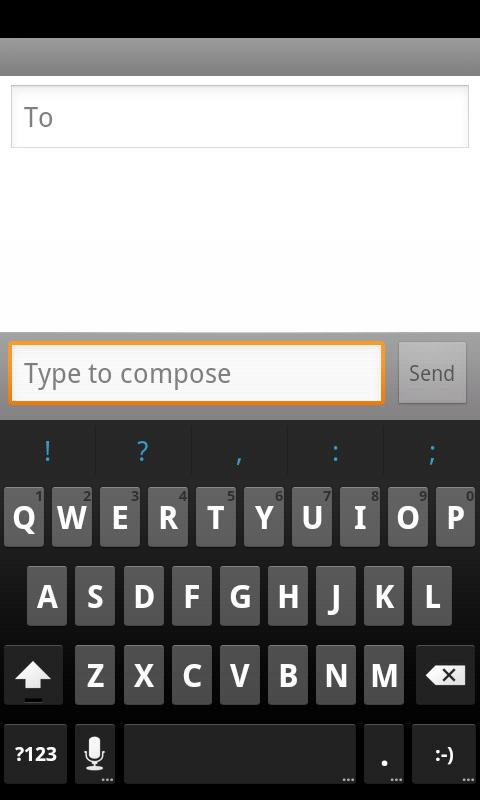 ICS Keyboard- screenshot
