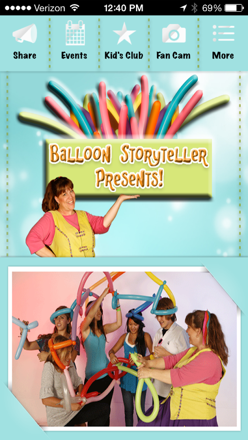 Balloon Storyteller - screenshot