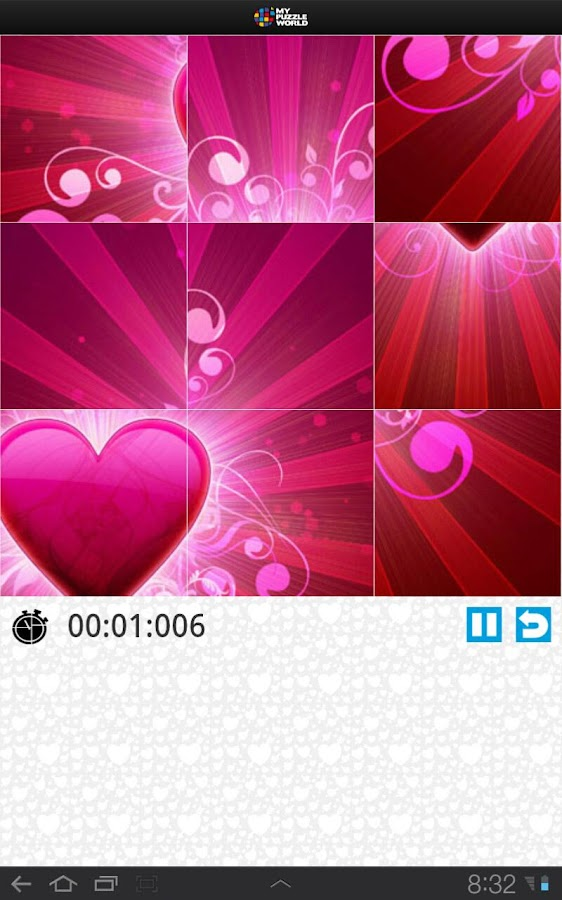 Valentine's Day Love Puzzle- screenshot