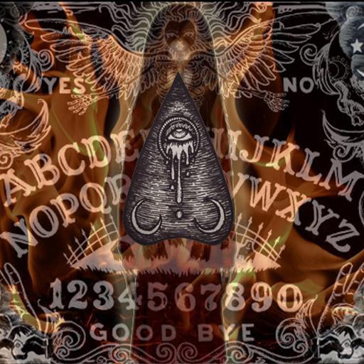 Ouija REALLY talk to a ghost! LOGO-APP點子