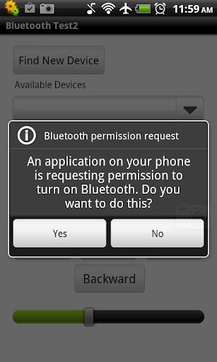 Bluetooth Robot Controller