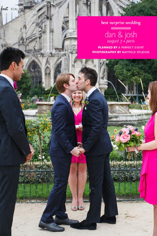 Gay Weddings From The Knot - screenshot