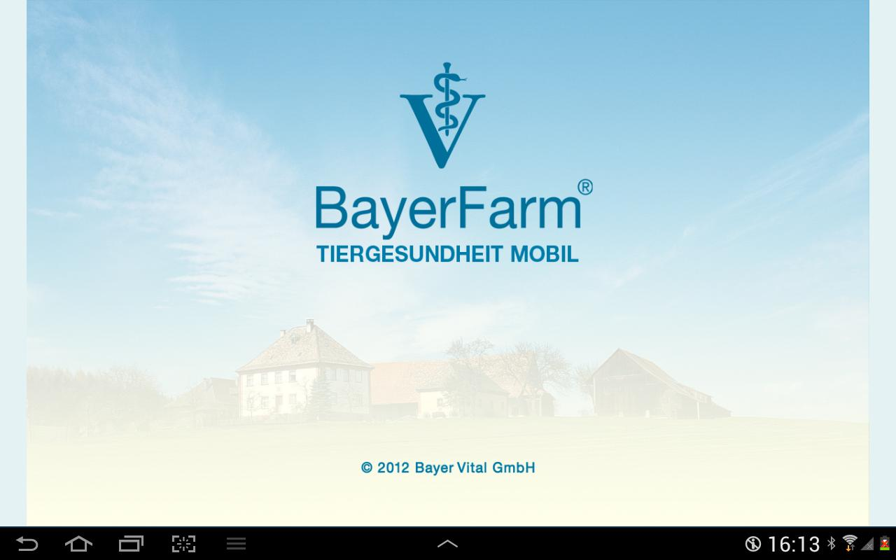 Bayer Tiergesundheit mobil- screenshot