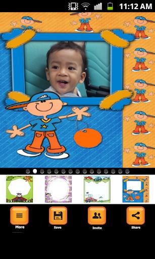 Kid Baby Photo Insta Frames
