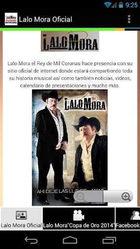 Lalo Mora Oficial