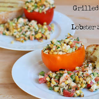 Grilled Corn and Lobster Salad.