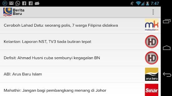 Berita Baru PRU13- screenshot thumbnail