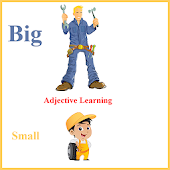Kids Adjectives Flashcards