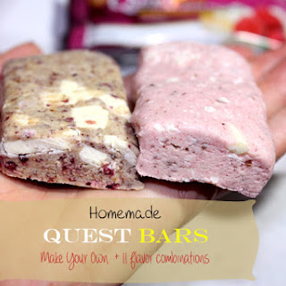 Homemade Quest-Inspired Bars - Cookie Dough Flavor Recipe
