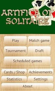 Artifice of Solitaire- screenshot thumbnail