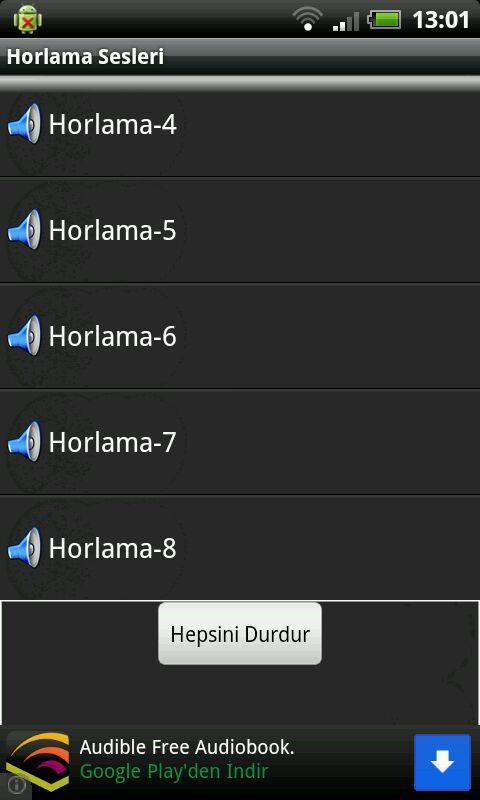 Horlama Sesleri - screenshot