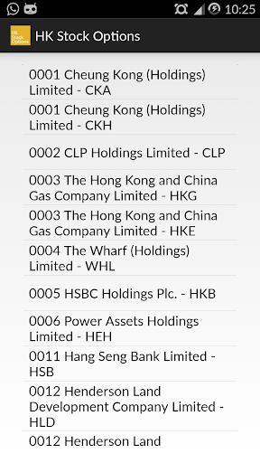 香港股票期權 Lite