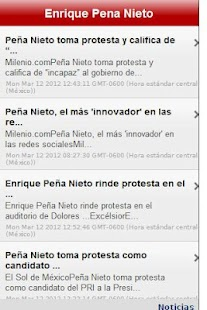Enrique Peña Nieto- screenshot thumbnail