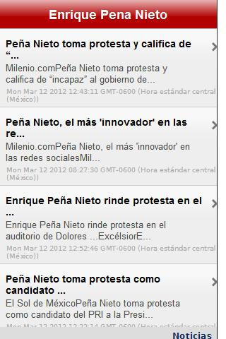 Enrique Peña Nieto - screenshot